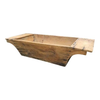 Antique Pine Trough, Display Piece, Wood or Floral Holder For Sale
