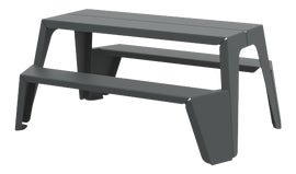 Image of Gray Outdoor Dining Tables
