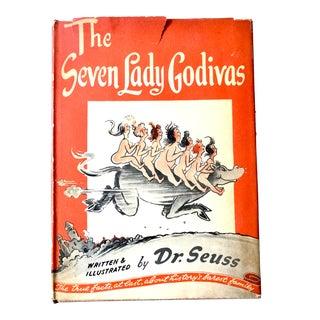 Dr. Seuss Book the Seven Lady Godivas, 1st Ed. 1939 For Sale
