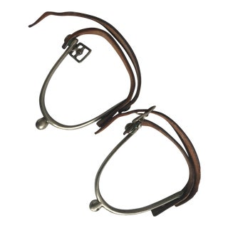 Horse Riding English Spurs - a Pair For Sale