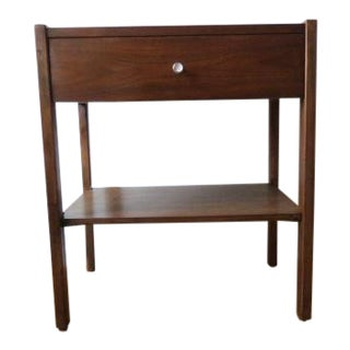1960s Vintage Morganton Furniture Co. Mid-Century Modern Nightstand For Sale