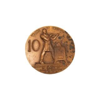 Rene P. Chambellan Bronze Medallion For Sale