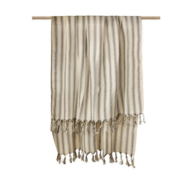 Turkish Hand Made Towel With Natural/Organic Cotton and Fast Drying,39x73 Inches For Sale - Image 10 of 13