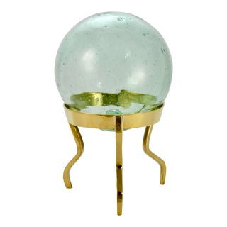Green-Blue Fishing Float With Stand For Sale