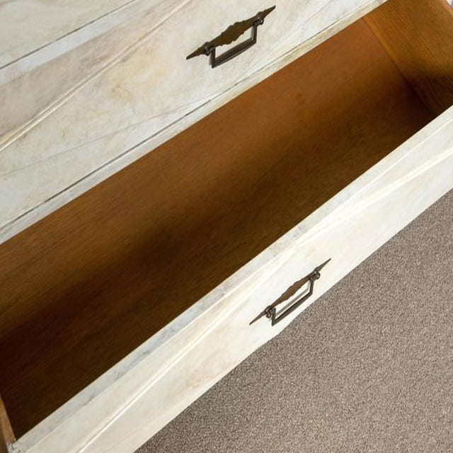 Faux Painted Marble Top Dressers- A Pair - Image 8 of 9