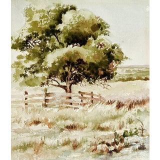 Plein Air Watercolor Landscape Painting