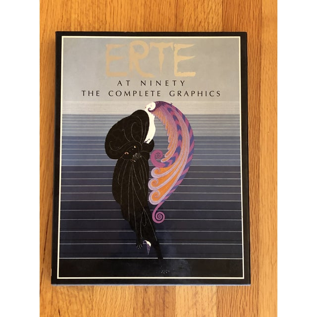 """Paper """"Erte at Ninety the Complete Graphics"""" Book For Sale - Image 7 of 7"""