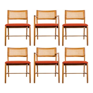 1960s Edward Wormley for Dunbar Dining Chairs - Set of 6