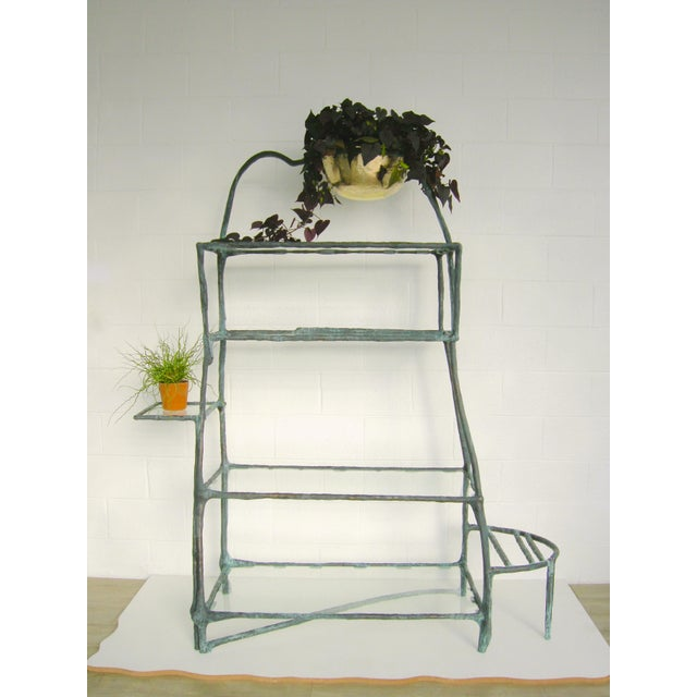 Ceramic Plant Library Etagere by Zuckerhosen For Sale - Image 7 of 8