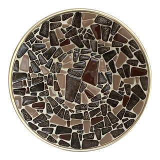 Mid-Century Mosaic Bowl For Sale