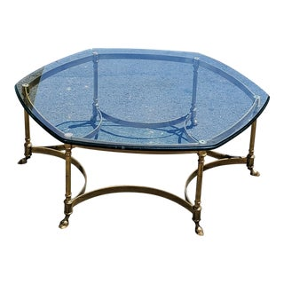 1960s Hollywood Regency Labarge Coffee Table For Sale