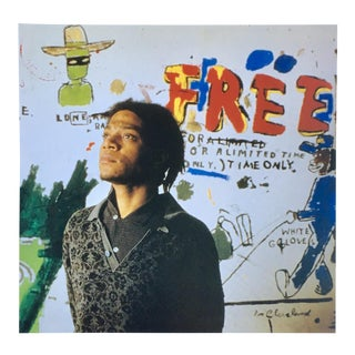 Vintage Basquiat Gallery Announcement For Sale