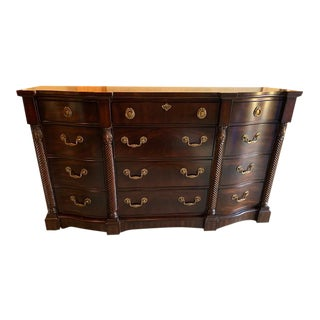 Portraits Triple Drawer Dresser by Drexel Heritage For Sale