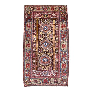 Khamseh Woven Rug - 3′2″ × 5′6″ For Sale