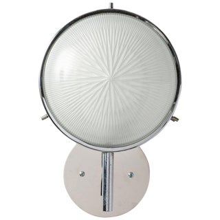 1960s Modern Studio BBPR Glass and Metal Sconce For Sale