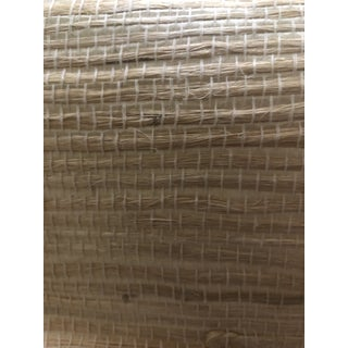 Vintage Korean Grasscloth Wall Covering For Sale