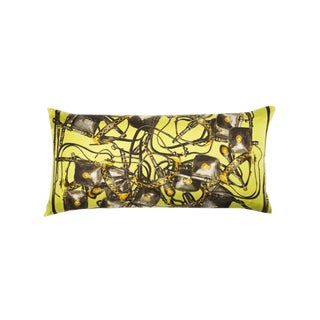 """Brides Rebelles"" Hermès Silk Scarf Pillow For Sale"