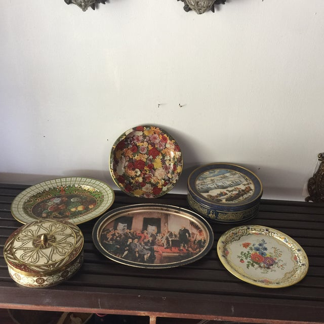 English Daher Tin Collection- Set of 6 - Image 2 of 4