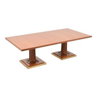 Monumental and Rare t.h. Robsjohn-Gibbings Dining Table For Sale