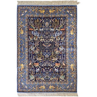 Vintage Persian Isfahan Rug For Sale