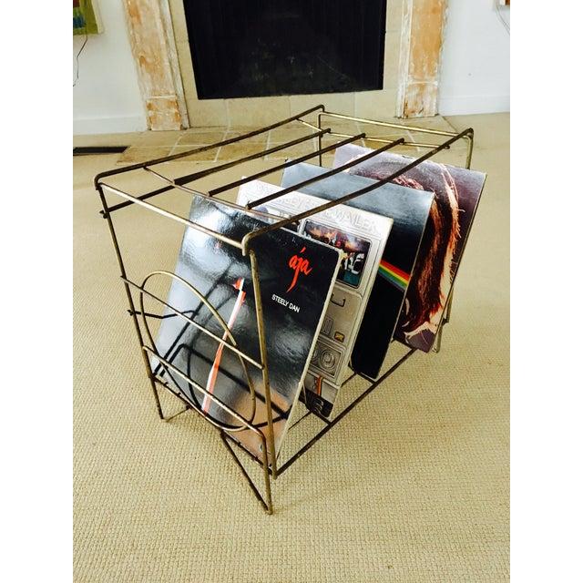 50's Metal LP Record Album Storage - Image 4 of 7