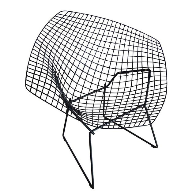 Black Knoll Bertoia Diamond Lounge Chair. 1952 Design The Diamond chair has become one of the most recognized chair...