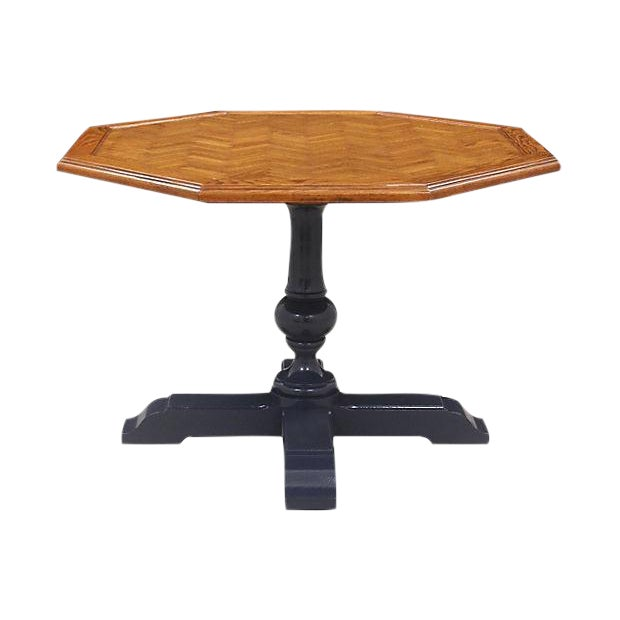 Neoclassical Paquetry Breakfast Table - Image 1 of 5
