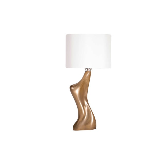 Amorph Helen Table Lamp, Gold Finish For Sale