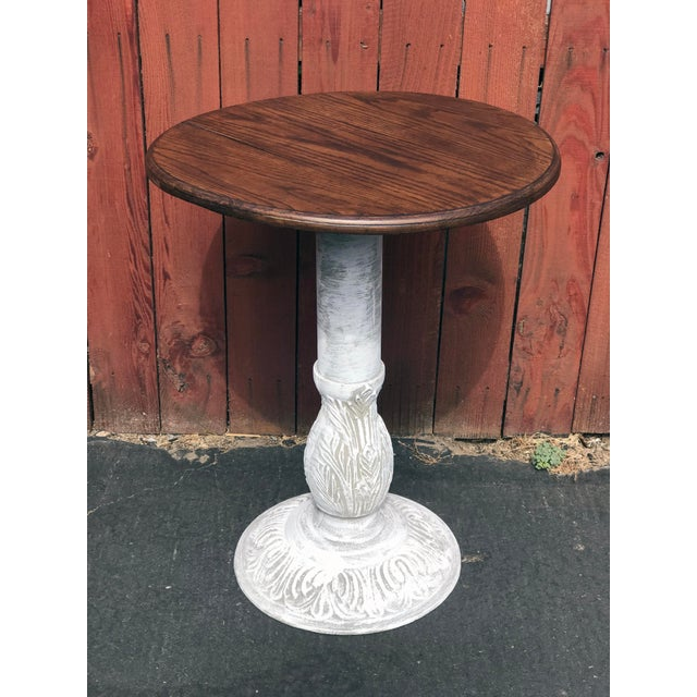 We found this little bistro table at a thrift store in Long Beach, California. It was rusted and very scratched up. We...