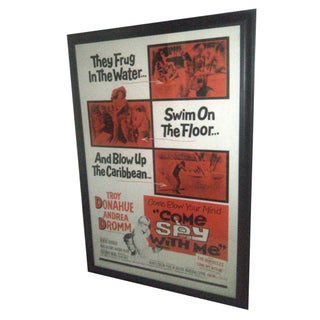 Original 1967 Movie Poster - Come Spy With Me