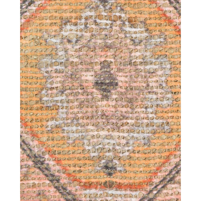Naina, Bohemian Moroccan Hand Loom Area Rug, Blush, 9 X 12 For Sale In New York - Image 6 of 9
