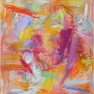 """""""Arizona Afternoon"""" by Trixie Pitts Large Abstract Expressionist Oil Painting For Sale"""