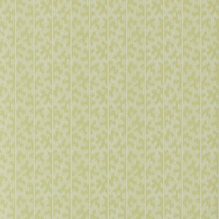 Sample - Schumacher X David Oliver Montepellier Wallpaer in Lime Blossom For Sale