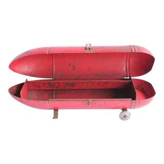Vintage Blackhawk American Zeppelin Tool Box For Sale