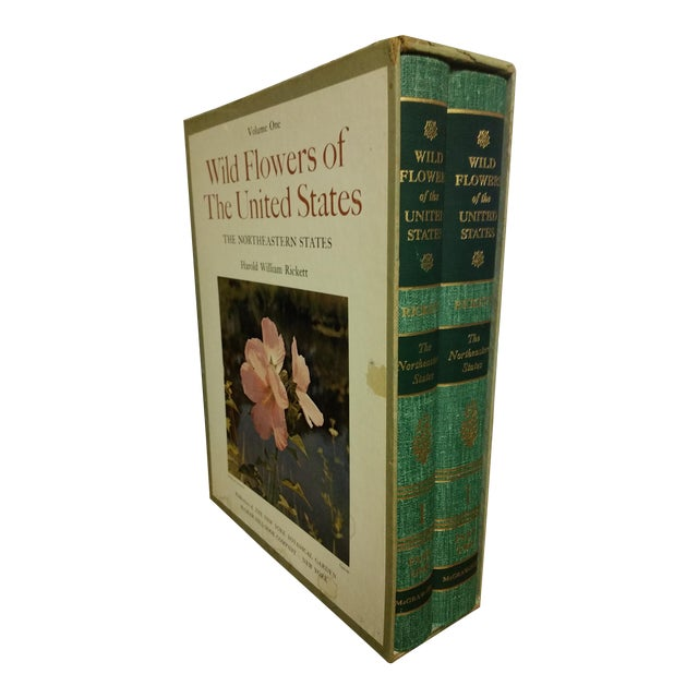 Wild Flowers of the United States Hardcover Two Volume Set For Sale