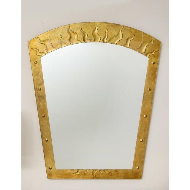 David Marshall David Marshall Èglomisé Mirror For Sale - Image 4 of 13