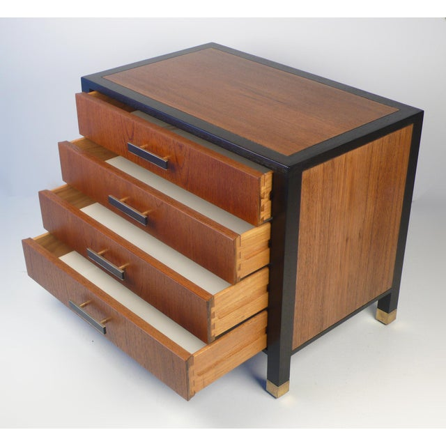 1960s Harvey Probber Chest Nightstand For Sale - Image 5 of 7