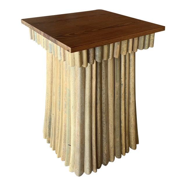 Florida Studio-Craft Pedestal Table For Sale