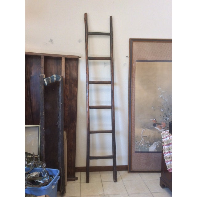 Tall Wooden Asian Ladder For Sale In San Antonio - Image 6 of 6