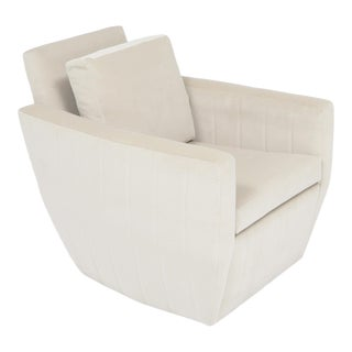 Modern Shelby Swivel Chair For Sale
