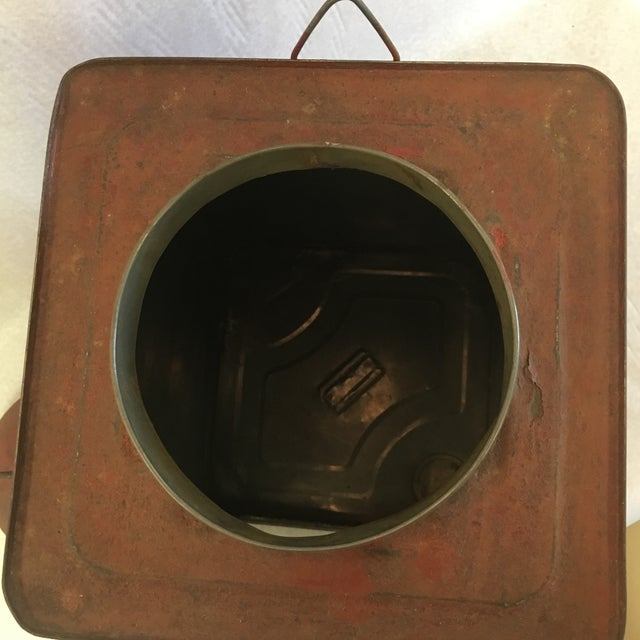 Antique Tin Container For Sale In South Bend - Image 6 of 11