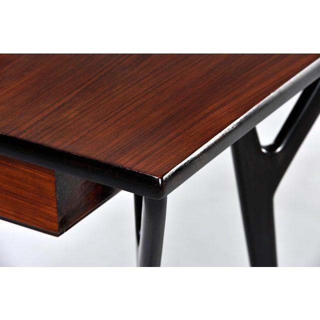 1960s Small Mid Century Italian Desk For Sale - Image 5 of 12