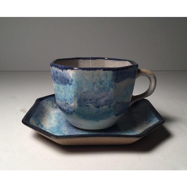 White Gordon Martz Ceramic Teacups / Dinnerware For Sale - Image 8 of 12