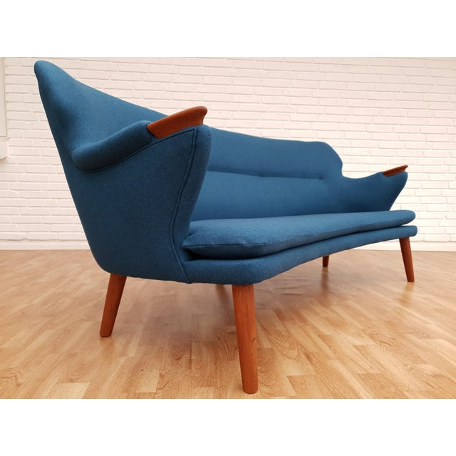 "1960s 1960s Vintage Danish Design by Kurt Olsen, ""Banana"" Sofa For Sale - Image 5 of 13"