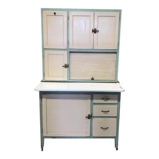 Early American Hoosier Style Kitchen Cabinet