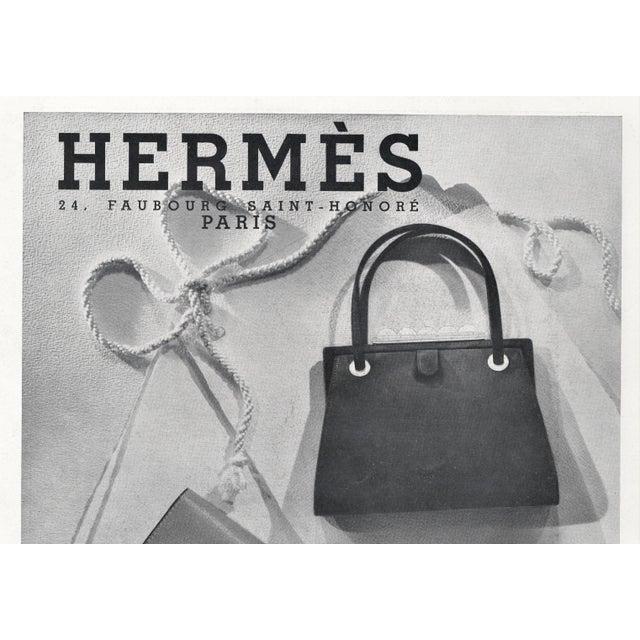 Art Deco Matted Vintage Art Deco Hermes Print-Handbags For Sale - Image 3 of 5