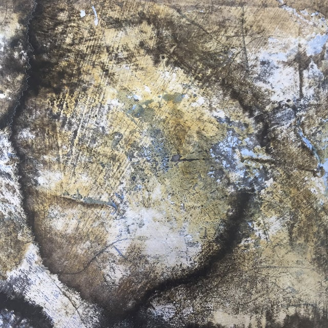 Abstract Roger Mudre, Asafetida Painting, 2013 For Sale - Image 3 of 5