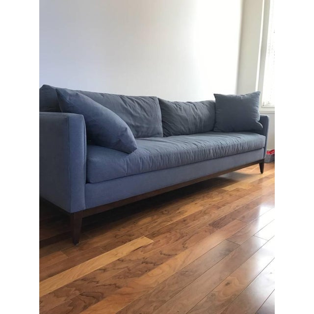 We are moving and this couch unfortunately does not fit in our new apartment. Would like to see this new sofa used in...