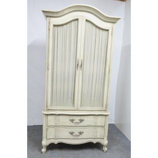 White Fine Furniture French Provincial Armoire Preview