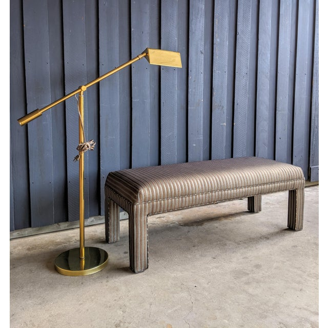 Contemporary 1980s Contemporary Parsons Bench For Sale - Image 3 of 12